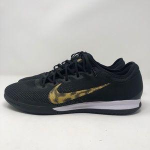 Nike Mercurial Black and Gold Sneakers vapor